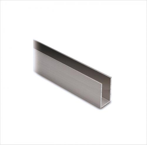 Großartig S 1002 – 'U' type aluminium profile 17x15x1.25 mm, 6 ml  OL19